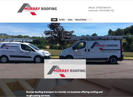 New Website for Murray Roofing