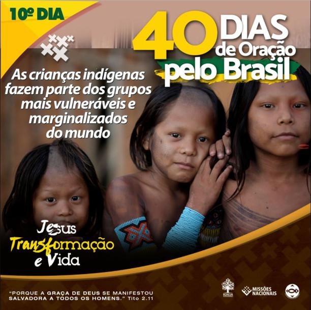 10º Dia  - Infanticídio entre os Povos Indígenas