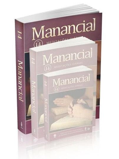 Manancial - Livro Devocional 2018