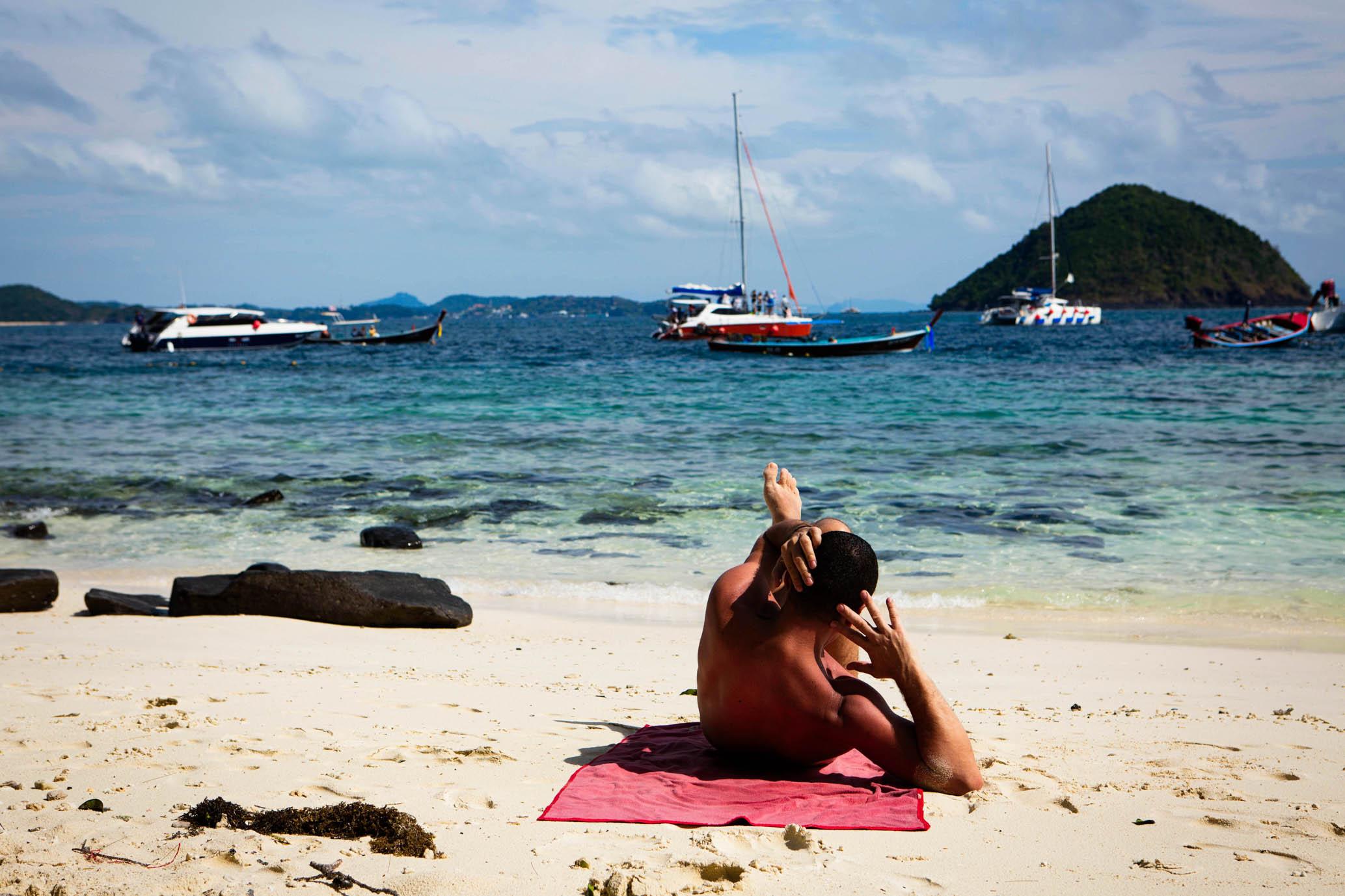 Банановый пляж. Ко Хе