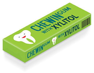 Did you know that chewing gum is good for your teeth?
