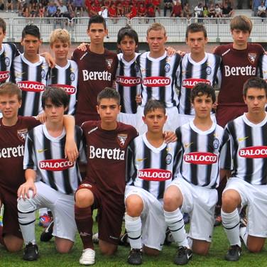 Francesco Serafino in Torino vs Juventus