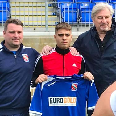 Francesco Serafino signs to Bangor City FC
