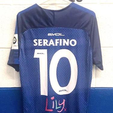 Bangor City FC - Shirt Francesco Serafino  -  Francesc