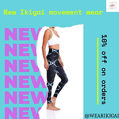 New Ikigai movement wear collection.png