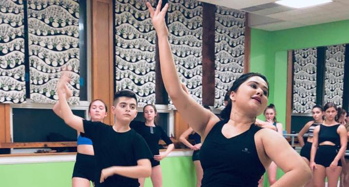 Teaching Indian Dance