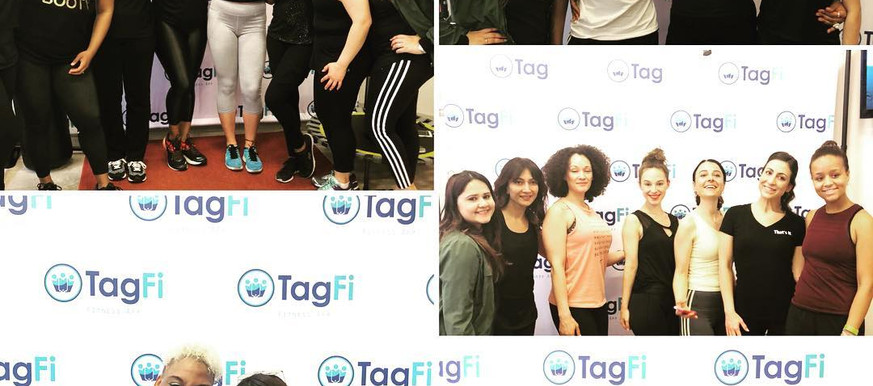 At Launch event of Tagwell app