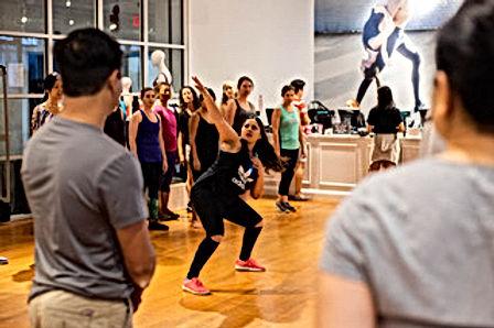 Pooja Uberoi at Dance Workshp