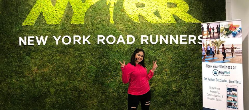 At NYRR Event