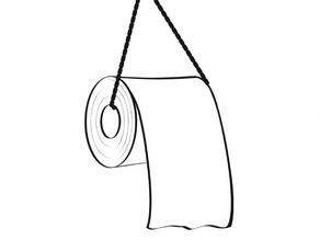 Confinement, papier WC et poids