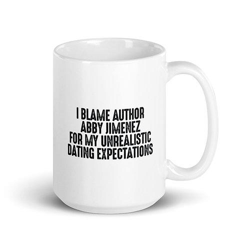 AUTHOR MERCH Mug (Dating Expectations)