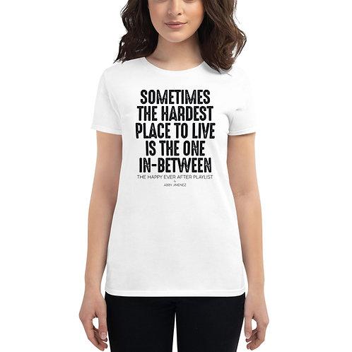 HEAP Women's Short Sleeve T-Shirt (In-between)