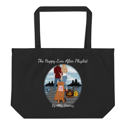 HEAP Large Organic Tote Bag (Fan Art)