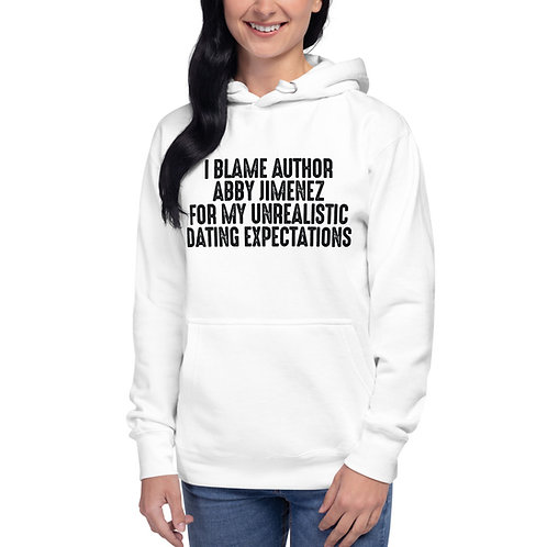 AUTHOR MERCH Unisex Hoodie (Dating Expectations)