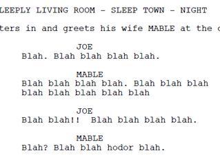 "Three ways to avoid ""Talking Wallpaper"" Dialogue."