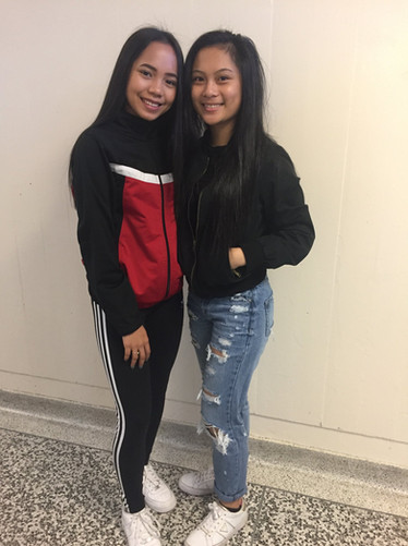 Mae Parole & Jaermaine Sagisi Grade 11