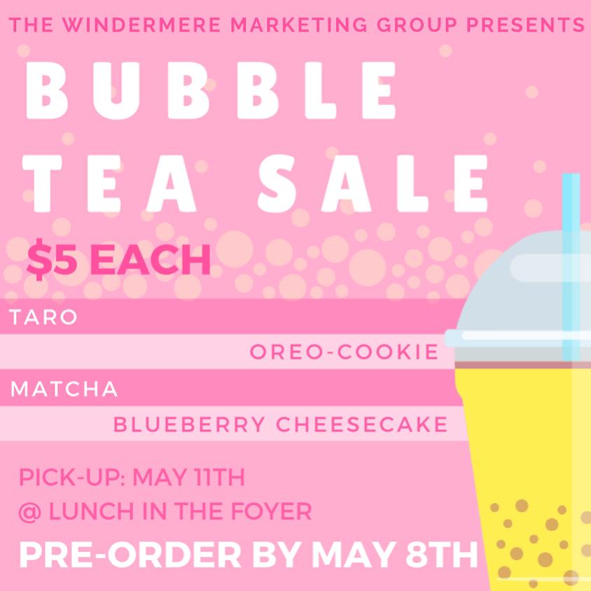 Bubble Tea Sale