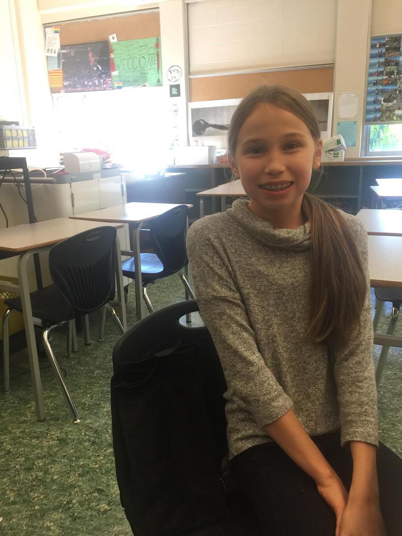 Emma Wright-Galbraith (Grade 8)