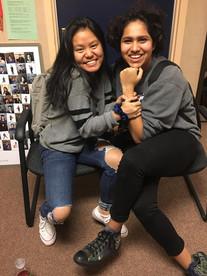 Celina Pheng and Mansi Saxena (Grade 11)