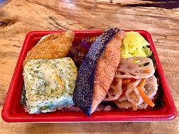 紅鮭のり弁