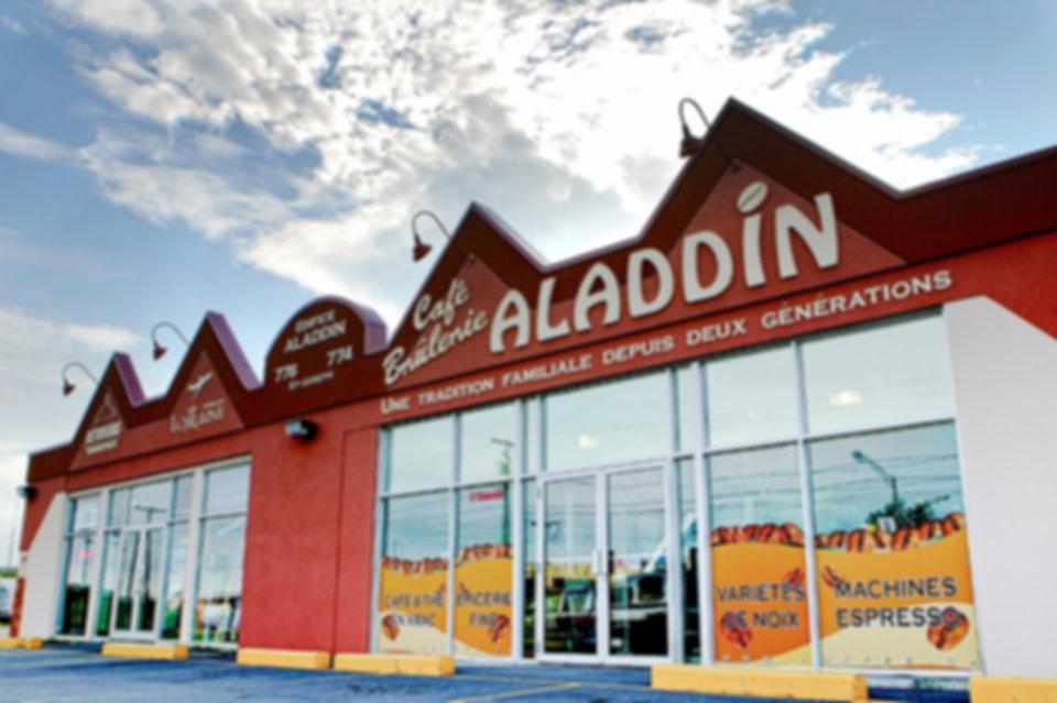 Brûlerie Aladdin - Contactez-nous