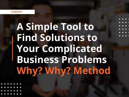 A Simple Tool to Find Solutions to Your Complicated Business Problems in 2021   Why? Why? Method