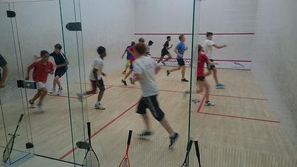 Squash Tots lesson