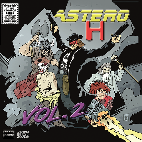 """ASTERO-H  - """"Vol.2"""""""