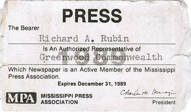 Richard Rubin Mississippi Press Association