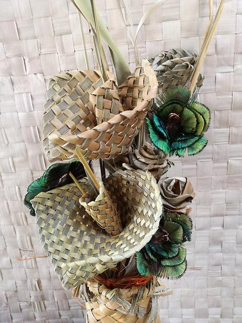 Hazel - Flax flower bouquet