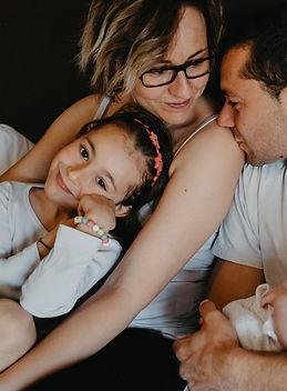 séance famille nouveau-né Gironde