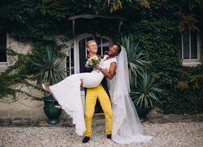Un mariage coloré à Bordeaux