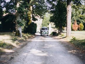 Un mariage en combi en Gironde