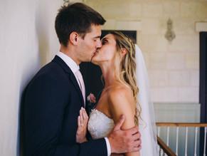 Un mariage bohème chic  à Saint-Emilion