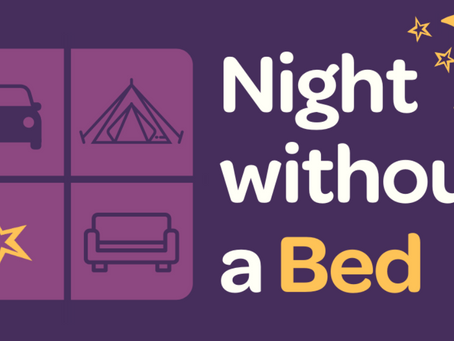 Join us for Night Without a Bed on June 26!