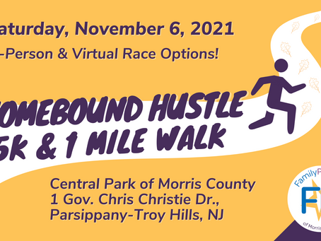 Family Promise of Morris County Hosts First Ever Homebound Hustle 5K
