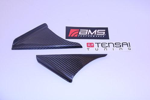 AMS Performance MKV Supra Anti-Wind Buffeting Kit - Gloss Carbon
