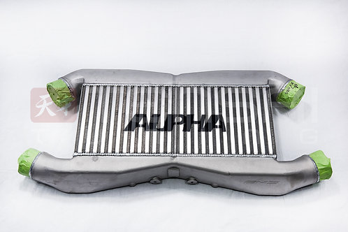 Alpha Performance R35 GT-R Front Mount Intercooler  for ALPHA IC piping W/Logo