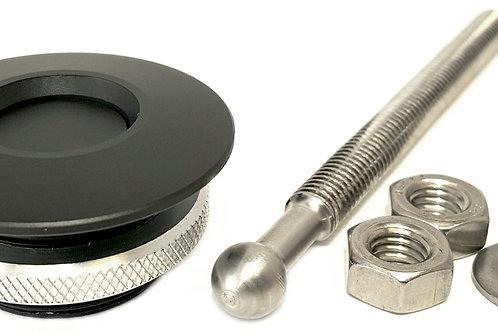 Quik Latch QL-38 Series Hood Pin Kits - Black Cerakote