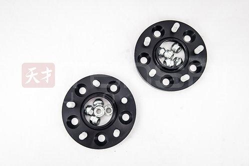 H&R 15mm wheel Spacers Nissan R35 GTR / Black