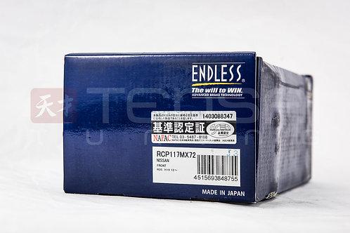 Endless MX72 Nissan R35 GT-R Brake Pads FRONT