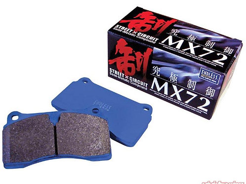 Endless MX72 Front Brake Pads Supra MK5 A90 A91