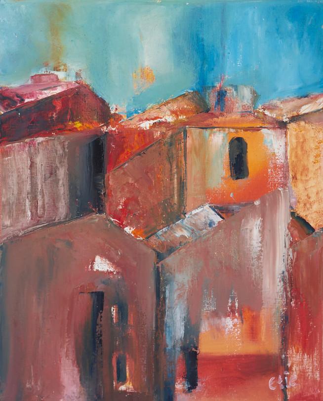 Daken in de zon