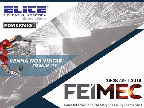 Elite Soldas e Robótica participa da FEIMEC