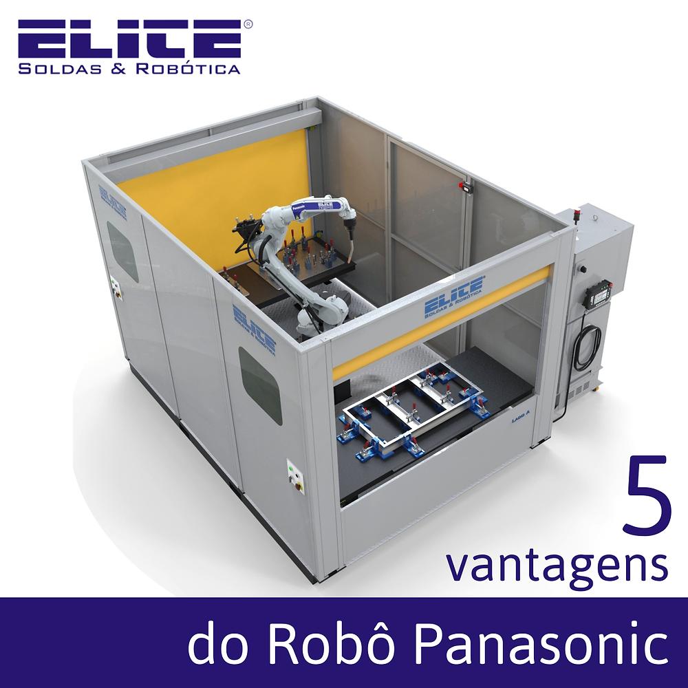 Robô de Solda Panasonic