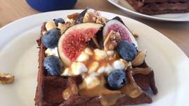 Kakaovafler (fuldkorn)