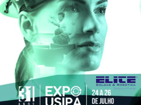 Elite Soldas e Robótica participa da EXPO USIPA em Ipatinga