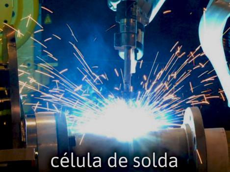 Soldagem é a mesma coisa de célula robotizada de solda?