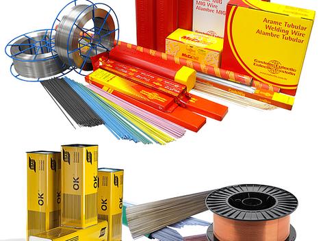 Equipamentos, produtos e acessórios de soldagem