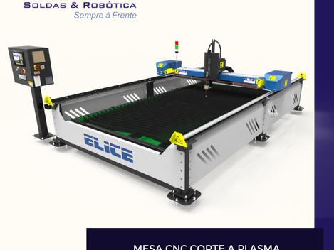 Conheça os modelos 2020 de mesa CNC corte a plasma Elite Soldas e Robótica